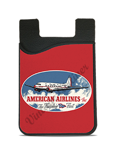 American Airlines Flagship Fleet Bag Sticker Card Caddy