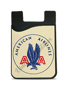 American Airlines 1940's Bag Sticker Card Caddy