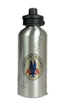 American Airlines 1940's Bag Sticker Aluminum Water Bottle