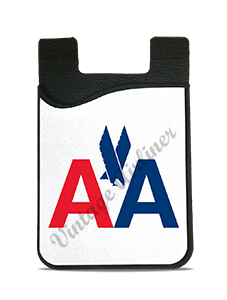 American Airlines 1968 Logo Card Caddy