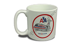 American Airlines Old Livery MD-80 Bag Sticker 20 oz. Coffee Mug