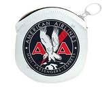 American Airlines 1930's Mail Passenger Cargo Round Coin Purse
