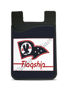 American Airlines Flagship Flag Bag Sticker Sticker Card Caddy