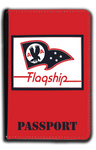 AA Flagship Flag Bag Sticker Passport Case