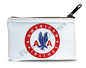 American Airlines 1940's Logo Rectangular Coin Purse