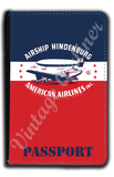 AA Hindenburg Bag Sticker Passport Case