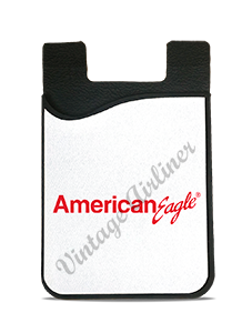 American Eagle Red Logo Card Caddy