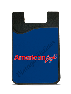 American Eagle Blue Logo Card Caddy
