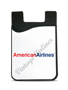 American Airlines Red & Blue Logo Card Caddy