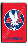 AA 1930's Logo Red Passport Case