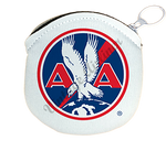 American Airlines 1930's Logo Round Coin Purse