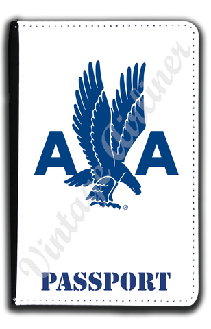AA 1940's Logo Passport Case