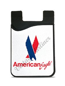 American Eagle Logo with Eagle Card Caddy