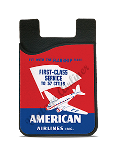 American Airlines DC3 First Class Service Card Caddy