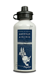 American Airlines 1947 Timetable Cover Aluminum Water Bottle