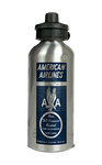 American Airlines 1940's Eagle Timetable Cover Aluminum Water Bottle