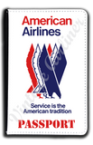 American Airlines Eagle Timetable Cover Passport Case