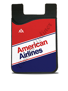 American Airlines 1980's Timetable Card Caddy