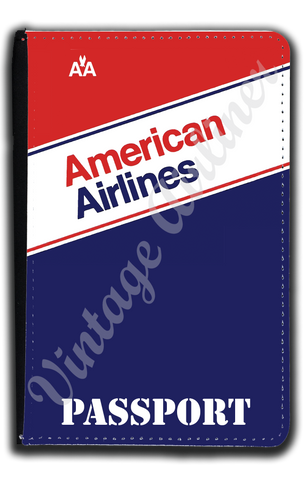 AA 1980 Ticket Jacket Passport Case