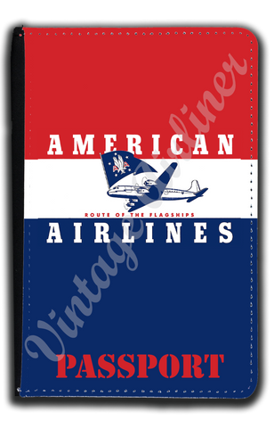 AA 1950's Bag Sticker Passport Case