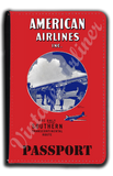 AA 1930's Timetable Cover Passport Case