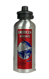 American Airlines 1936 Timetable Cover Aluminum Water Bottle