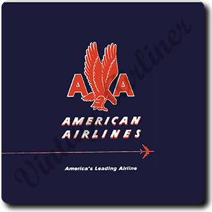 AA 1940's Timetable Cover Square Coaster