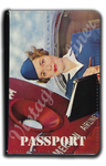 AA 1950's Flight Attendant Passport Case
