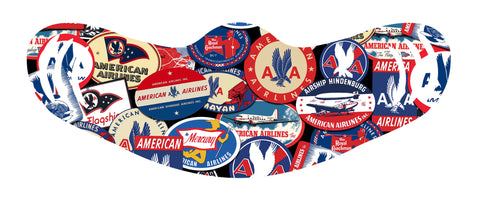 AA Collage Face Mask