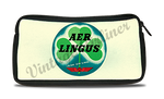 Aer Lingus Irish Airlines Vintage Bag Sticker Travel Pouch
