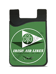 Aer Lingus Irish Air Lines 1950's Vintage Bag Sticker Card Caddy