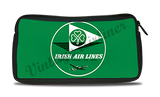 Aer Lingus Irish Airlines 1950's Vintage Bag Sticker Travel Pouch