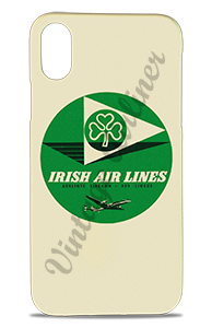 Aer Lingus Irish Air Lines 1950's Vintage Bag Sticker Phone Case