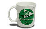 Aer Lingus 1950's Vintage Bag Sticker 11 oz. Coffee Mug