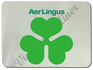 Aer Lingus Shamrock Logo Glass Cutting Board