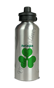 Aer Lingus Logo Aluminum Water Bottle
