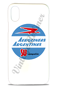 Aerolineas Argentinas 1960's Vintage Bag Sticker Phone Case
