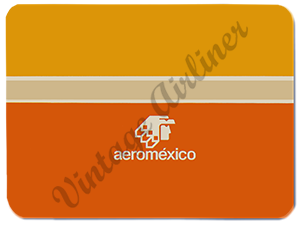 AeroMexico Logo Glass Cutting Board