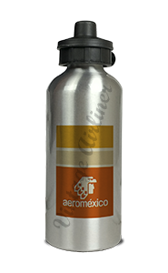 Aeromexico Bag Sticker Aluminum Water Bottle