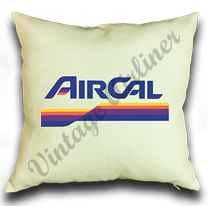 Air Cal Logo Linen Pillow Case Cover