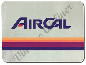 Air Cal Logo Glass Cutting Board
