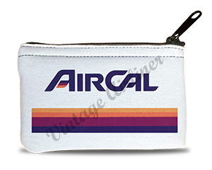 Air Cal Logo Rectangular Coin Purse
