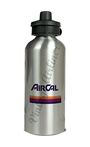 Air Cal Logo Aluminum Water Bottle