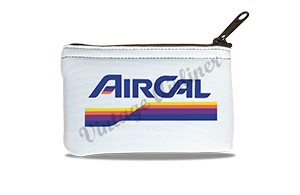 Air Cal Last Logo Rectangular Coin Purse