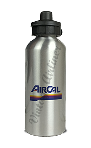Air Cal Last Logo Aluminum Water Bottle