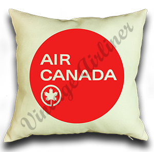 Air Canada Logo Linen Pillow Case Cover