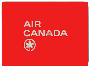 Air Canada Logo Glass Cutting Board
