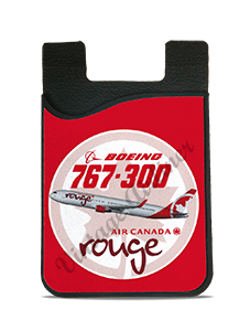 Air Canada Rouge Bag Sticker Card Caddy