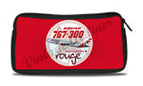 Air Canada Rouge Bag Sticker Travel Pouch