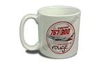 Air Canada 767 Rouge Bag Sticker 20 oz. Coffee Mug